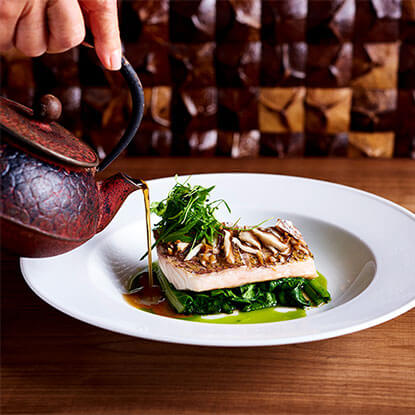 STEAMED PACIFIC SNAPPER